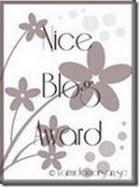 Fin award som jag fått av kryddaLivet