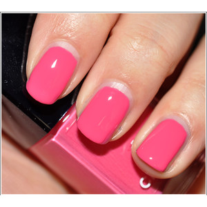 I'll wear this nail polish with a black linen sheath and Chanel sunglasses