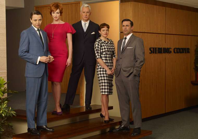 Mad Men: A Chic Retrospective From Dior's new look to '60s mod, Janie Bryant's costumes on Mad Men kept us tuning in as much for the clothes as for Don's latest antics.