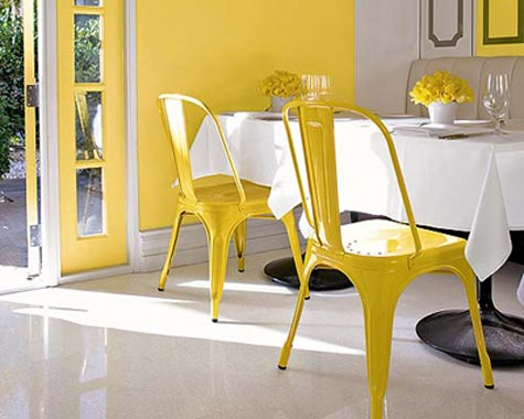 Chinoiserie chic saturday inspiration for West elm yellow chair