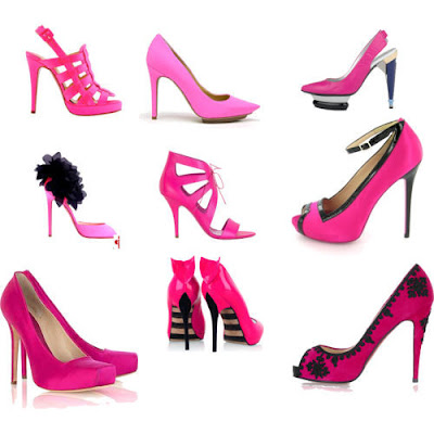 A great pair of pink heels is