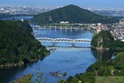 犬山の絶景 大平山展望台