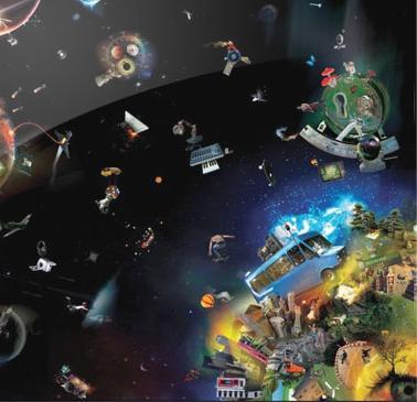 Dub FX – Everythinks A Ripple. 01 – The Rain Is Gone (feat. Flower Fairy)