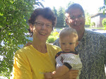 Me, wife Linda and grandson Luke
