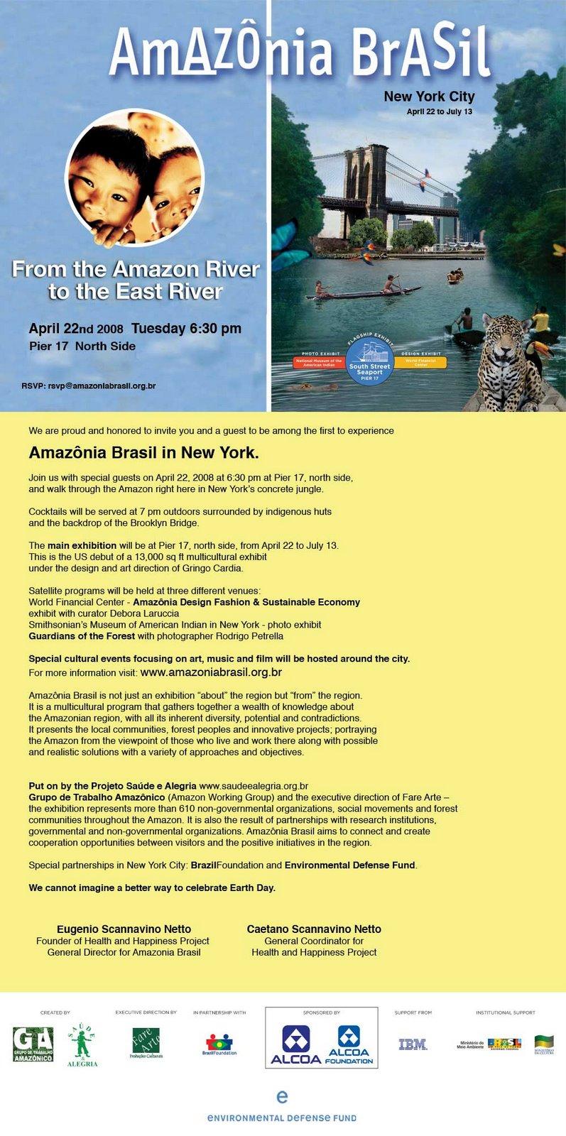 Exposição AMAZONIA BR em Nova York