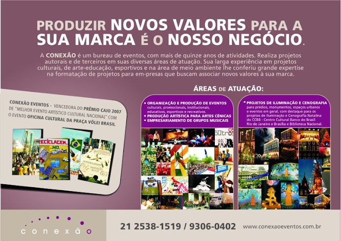 CONEXÃO EVENTOS - http://www.conexaoeventos.com.br