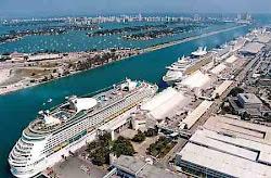"Port of Miami / ""Gara"" vapoarelor de croaziera"