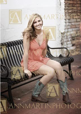 Plano senior pictures poses examples and ideas of girl in cowboy boots and dress