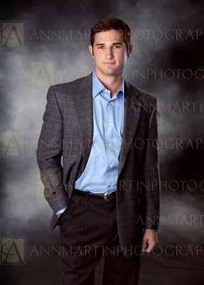 Dallas senior portraits of boy from Prestonwood Christian Academy in studio fashion poses examples ideas