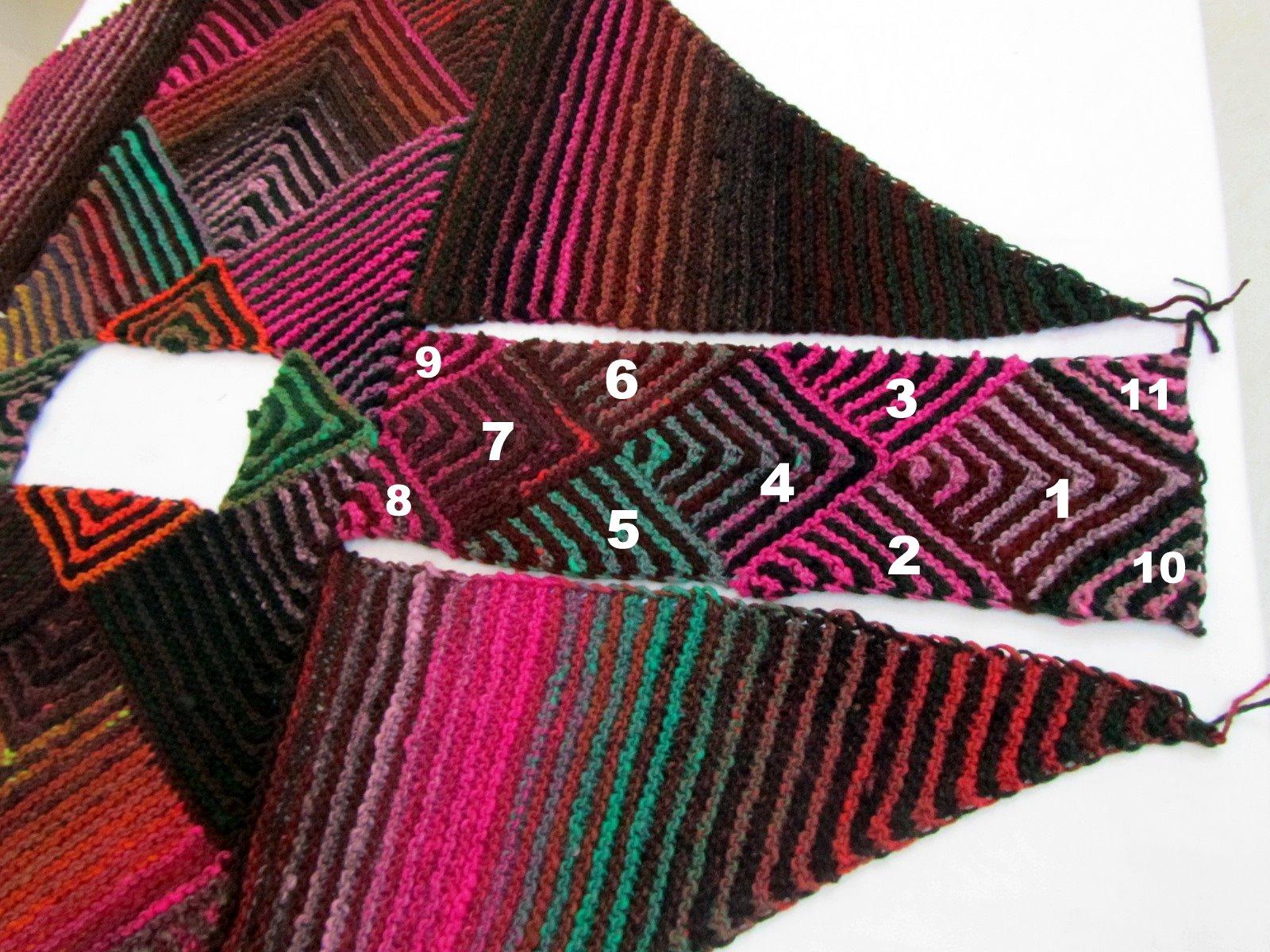 Knitting Pattern Poncho With Sleeves : Fibermania: Poncho #2: Alternate Sleeves