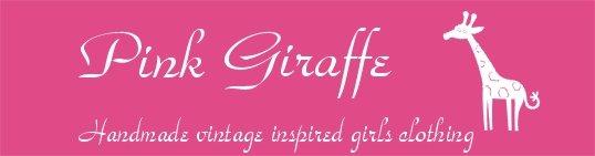 Pink Giraffe Handmade Clothing