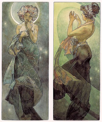 That man is Alphonse Marie Mucha. You can find a link to a museum dedicated