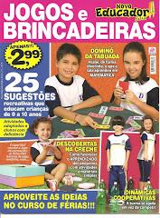 Revista de junho 2010- Novo Educador - jogos e brincadeiras