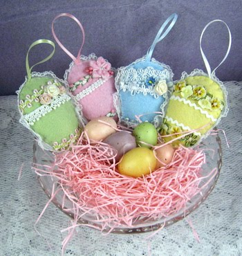~ Felt Easter Eggs ~
