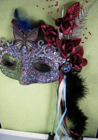 ~ Marie's Masquerade Mask (Marie Antoinette Art Group)