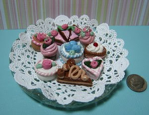 ~ French mini pastries Smorgasbord style ~