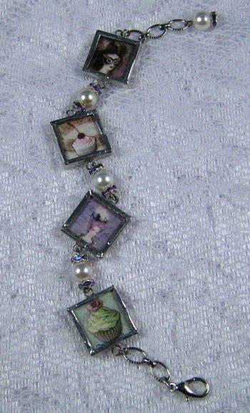 ~Soldered Marie Bracelet ~ Front of Bracelet