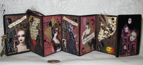 Halloween themed Mini Book