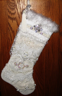 My Victorian  Christmas Stocking