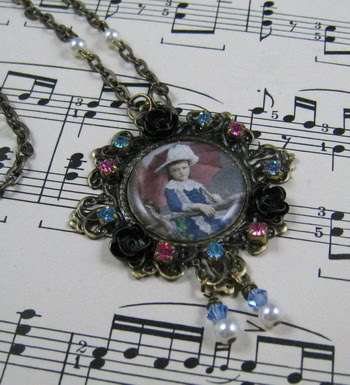 ~Vintage Brass Pendant~
