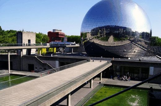 Going to paris cite des sciences paris science museum - Parking porte de la villette ...