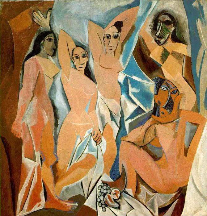 """Cubismo: """"Les Demoiselles d'Avignon"""" - Pablo Picasso"""