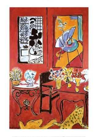 "Fauvismo: ""Gran interior en rojo"" - Henri Matisse"