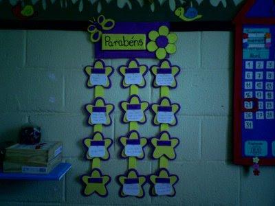 Mural Sugestão para decorar a sala de aula para crianças