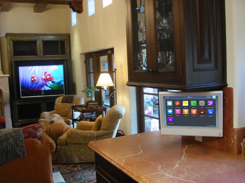 Tv In Keuken : Digitale eenvoud een touchscreen in de keuken ook voor jou