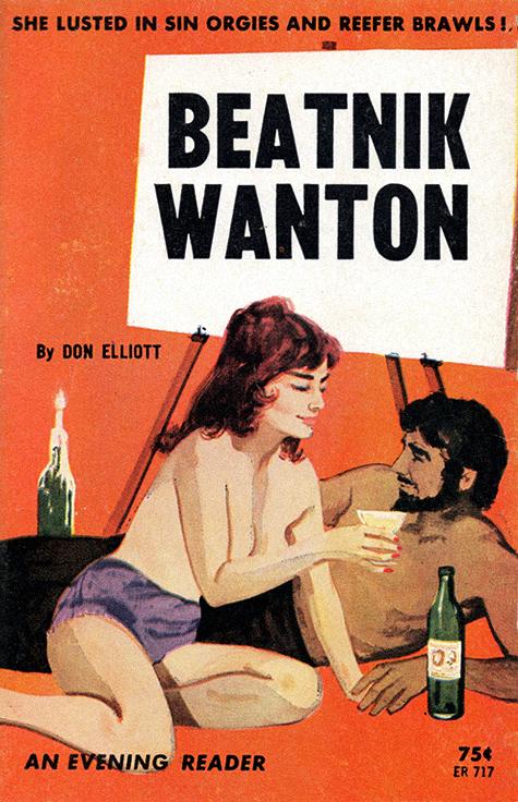 Beatniks et littérature populaire Beatnikwanton64