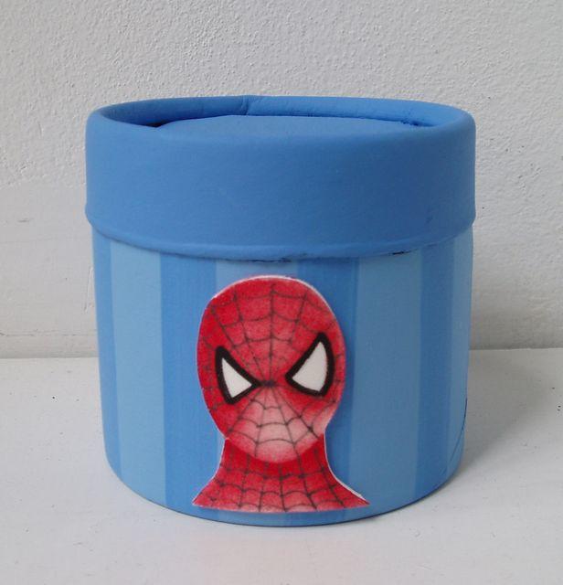 Cajitas con el hombre araña!!