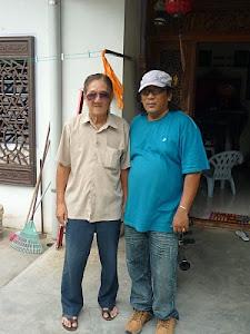 Bersama uncle Ah Wee.Batu Pahat Johor
