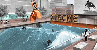 World's First Outdoor Artificial Surfing Machine