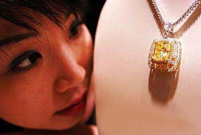 Yellow Colored Diamond