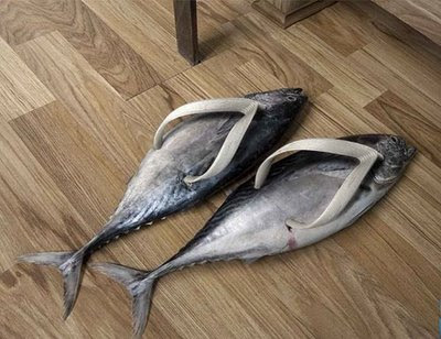 strange animal slippers