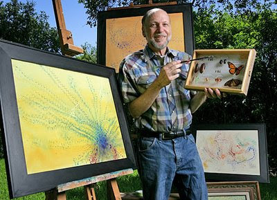 Meet artist Steven Kutcher the bugs painter