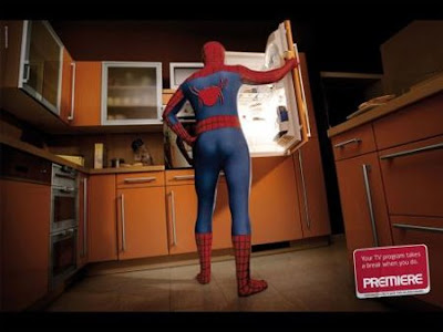 "Premiere ""Spiderman"" Advertisement"