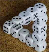 dices illusion