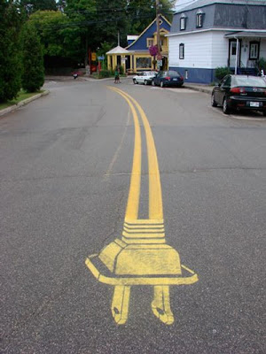Road Art or Graffiti?