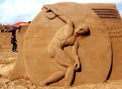 Beijing 2008 Olympics and sculpture