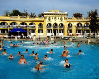 Budapest is a city famed for its thermal baths, and was dedicated a spa city as far back as the 1930s