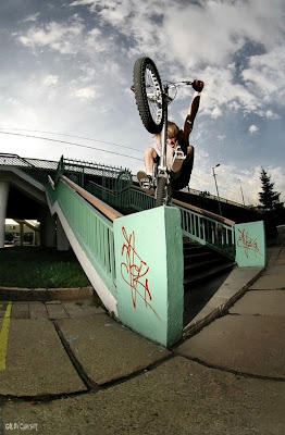 Amazing Bicycle Stunts Photography