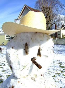 �Jessica Simpson Sucks� snowman