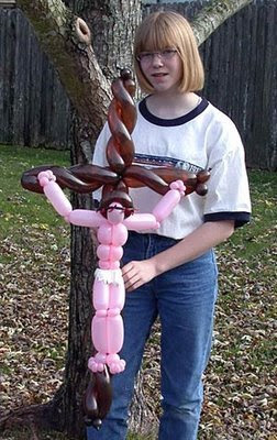 Jesus made from Balloon