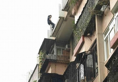 Girl definitely wanted to commit suicide