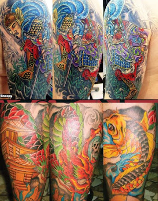 25 Most Vibrant and Colorful Tattoos