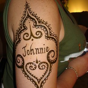 Facts Around Us Mehndi Designs For Shoulders  Upper Arm