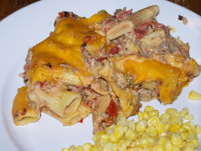 My Sisters' Cucina: Cheesy Baked Mexi-Rigatoni from Picky Palate