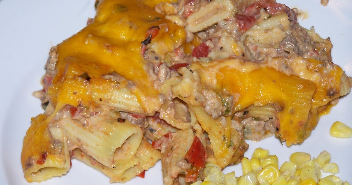 My Sisters' Cucina: Cheesy Baked Mexi-Rigatoni from Picky ...