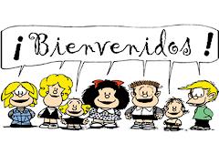 ¡¡¡¡¡Bienvenidos/as a todos/as!!!!!